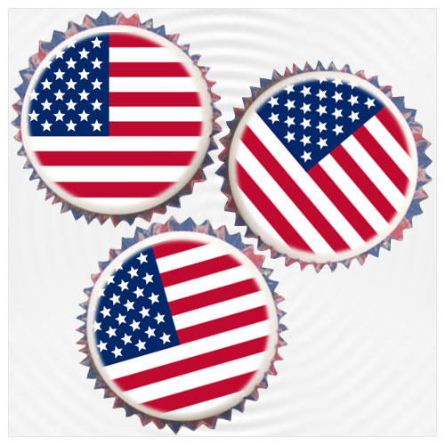 American Cupcake Decorations Amp Toppers