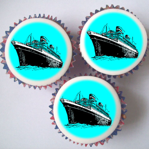 Titanic Cupcakes Amp Topper Decorations London Amp Uk Delivery